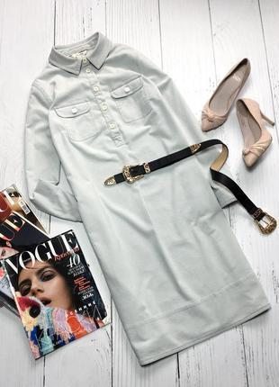 Вельветовое платье-рубашка с карманами boden