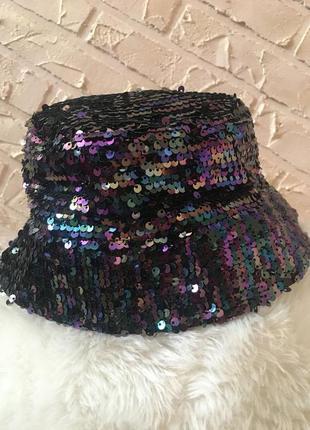 Шляпа в пайетки