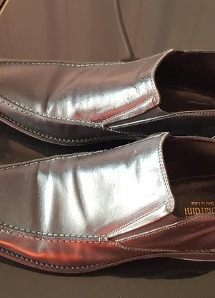 Итальянские кожаные туфли nero giardini