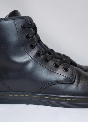 Ботинки dr. martens shoreditch greasy женские кожаные. оригинал. 41 р./26.5 см.