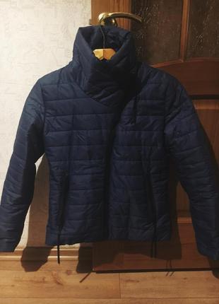 Куртка короткая воротник стойка
