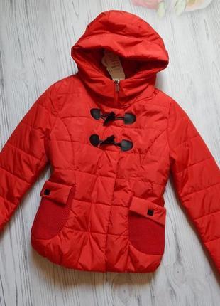 Яркая, стильная женская куртка до глубокой осени. размер s-m