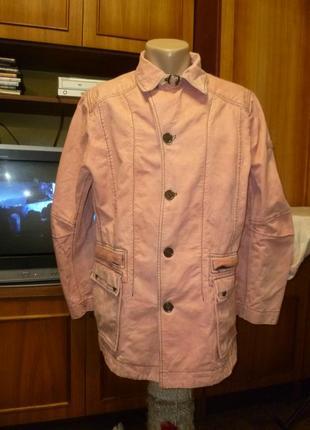 Удобная джинсовая куртка на байке для работы-дачи,мужская,осень-весна