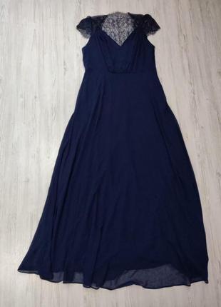 🆘розпродажа -50% -70 %🆘 вечернее платье с кружевом