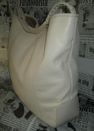 Бомбезная большущая кожаная сумка шоппер оригинал натуральная кожа в идеале