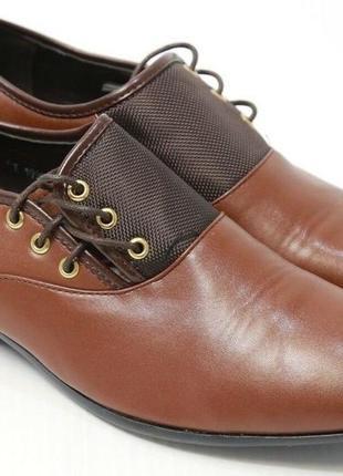 Новые туфли оксфорды из pu кожы sw xiu xian