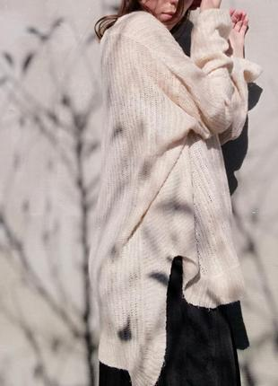 Свитер кофта оверсайз amisu пуловер джемпер
