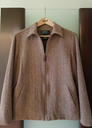 Куртка из 100% шерсти от ralf lauren