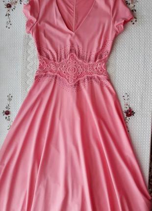 Нарядное длинное платье sogo, камни swarovski