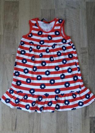 Платье сарафан на девочку george 1-1,5года.
