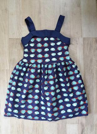 Сарафан платье на девочку next 7лет.