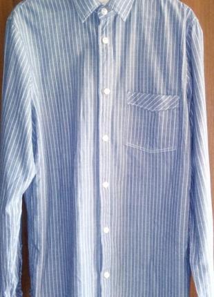 Джинсовая рубашка на 14-15 лет!
