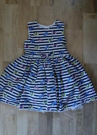 Платье сарафан на девочку yd 1-1,5года.