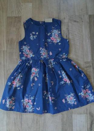 Платье сарафан на девочку next 1-1,5года.