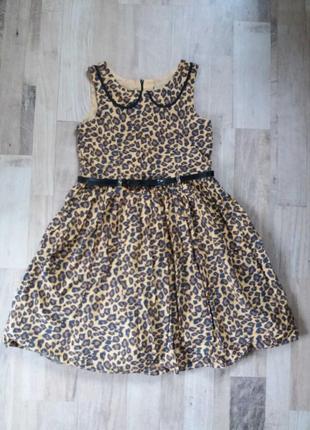 Платье сарафан на девочку next 9лет.
