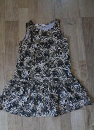 Платье сарафан на девочку h&m 2-4года.