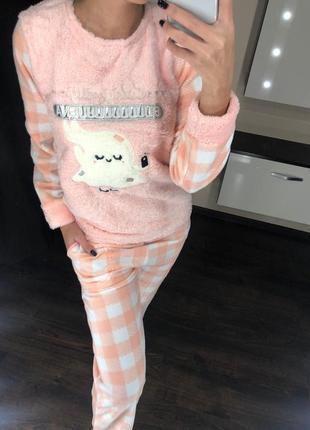 Пижама домашний крстюм турция флис