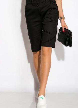 Новые стильные актуальные базовые шорты бермуды бриджи