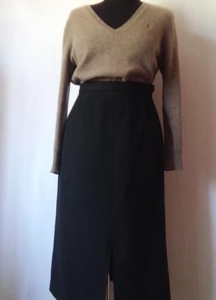 Alexon sportset! британия, оригинал. шерстяная юбка 100% шерсть