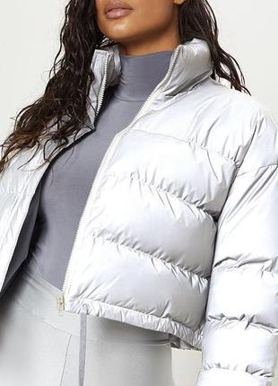 Новая рефлективная курточка (есть пятно)