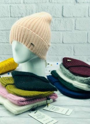 Женская шапка модель фонд
