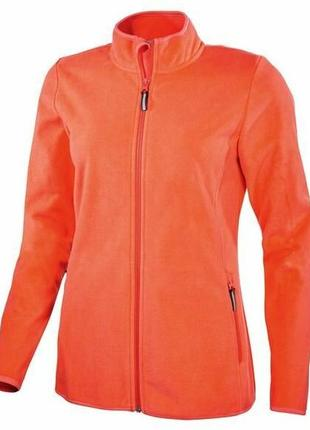Новая теплая кофта-куртка германия, р.l44/46 евро crivit