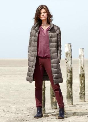 Стеганное пальто, еврозима, tchibo(германия), размеры наши: 42-44 (36 евро)