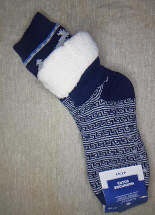 Мужские термо носки на меху с тормозами