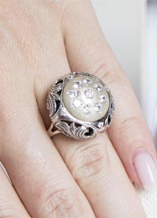 Кольцо серебро 925 каир 012