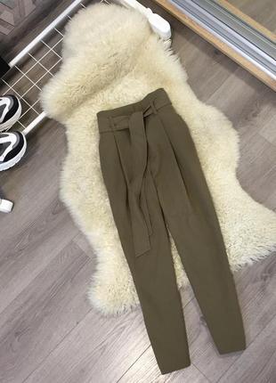 Укороченные брюки new look xs