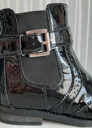 Крутые лаковые ботинки лоферы miss kg