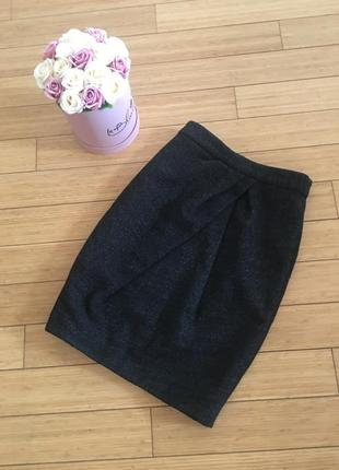 Идеальная шерстяная юбка cos