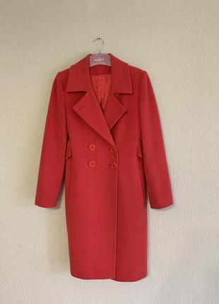 Шерстяное пальто kent collection