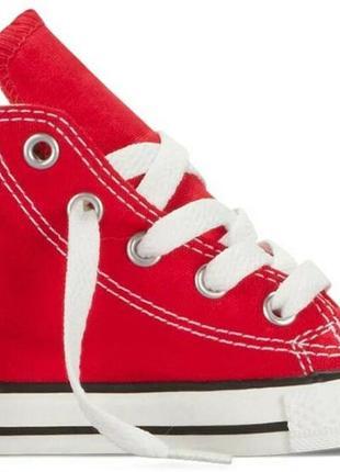 Кеды красные высокие converse ор-л 22