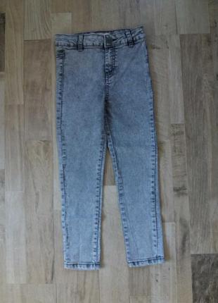 Джинсы штаны брюки на девочку denim 6лет.