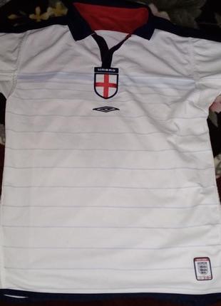 Двусторонняя футболка umbro,  сб. англия