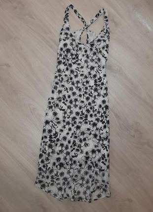 Сукня з принтом квітів h&m