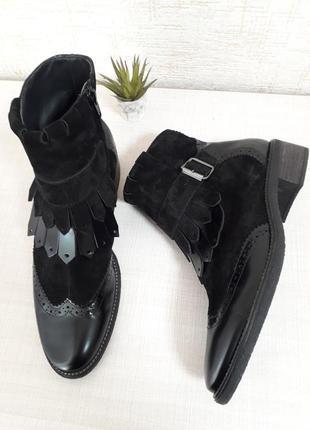 Супер крутые кожаные ботинки..челси австрия