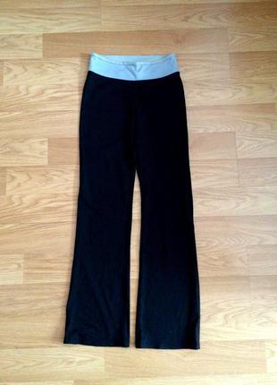 Черные спортивные брюки f&f из нейлона размера m