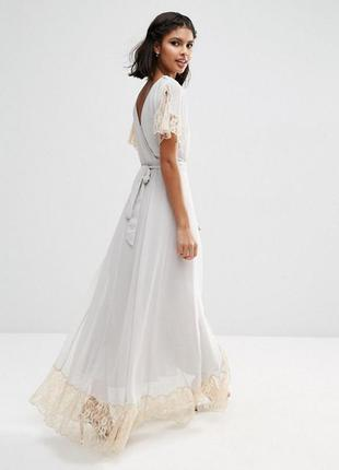 Красивое платье с гипюром asos