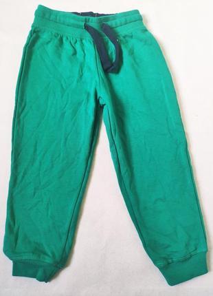 Яркие штаны на флисе для девочки 2-4 года