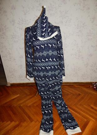 Слип пижама кигурими домашний костюм человечек р 14