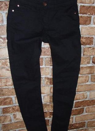 Черные стрейчевые джинсы 14-15 лет next