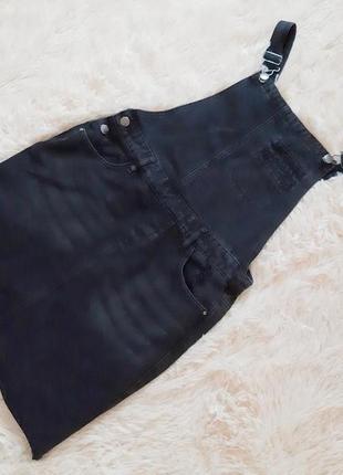 Крутой джинсовый сарафан от denim co