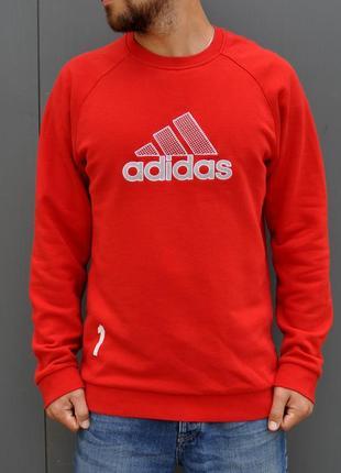 Яркий свитшот от adidas