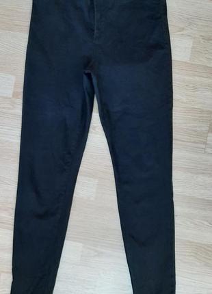 Стрейч-котоновые джинсовые брючки скины 48-50р