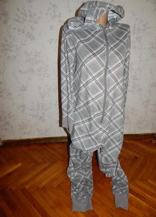 Слип пижама флисовая кигурими домашний костюм человечек р м