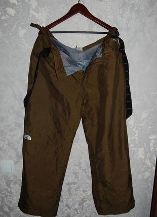 Лыжные брюки- штаны the north face  hy vent, оригинал,  размер xl (52) tnf