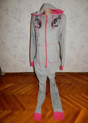 Слип пижама трикотажная  кигурими домашний костюм человечек р м