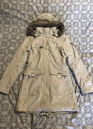 Зимняя куртка northland внутри овчина